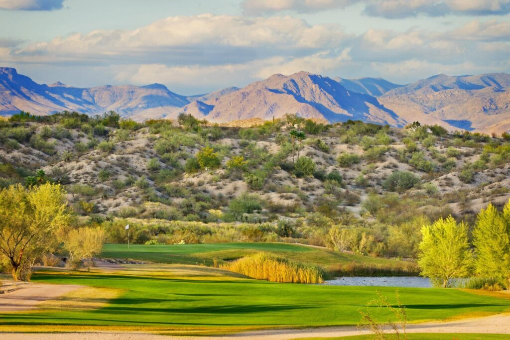 Wickenburg Country Club is one of our awesome Harvest Hosts golf locations.