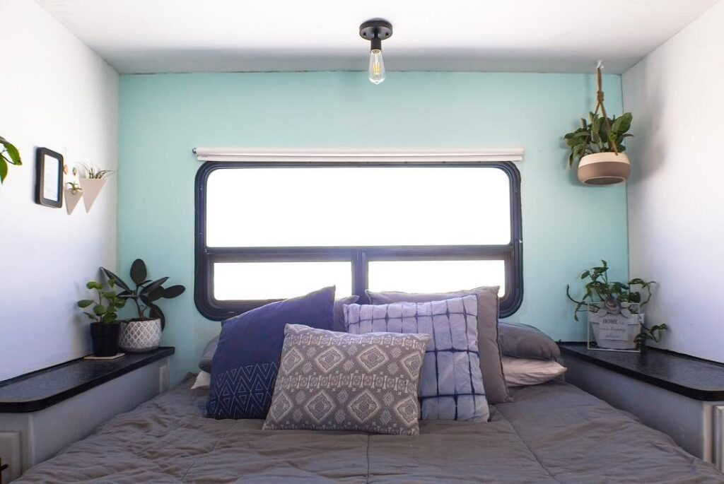 Finding comfortable RV bedding should be a priority in a new camper.