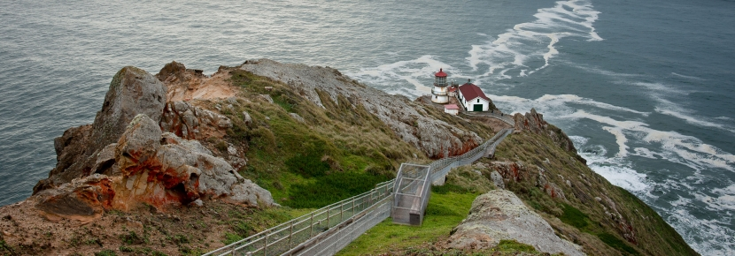 The lighthouse is one of the park's most popular attractions.