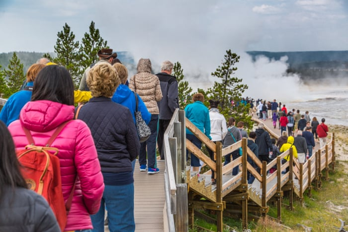 National parks and state parks are more crowded than usual.