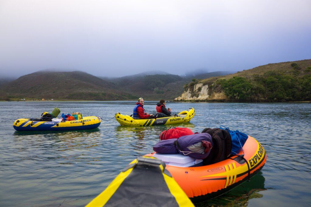 Kayaking is a park favorite activity at Point Reyes.