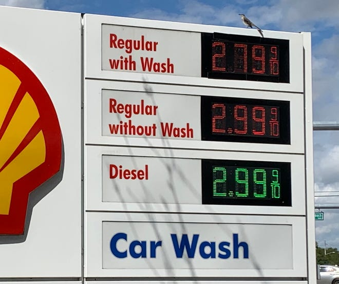 Gas prices are soaring in 2021.