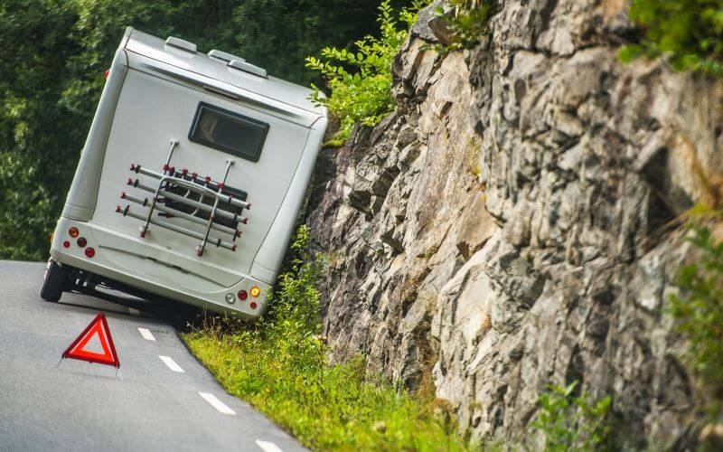 Having a roadside emergency kit is an essential safety tip for RVers.