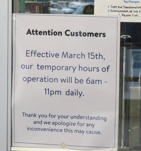Some businesses still have special COVID-19 hours.