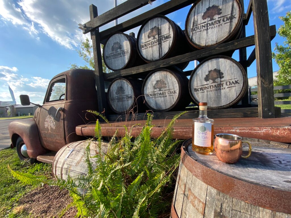 Boundary Oak Distillery is one of our awesome locations in Western Kentucky.