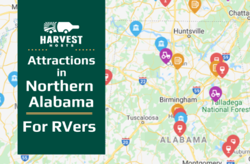 Attractions in North Alabama for RVers