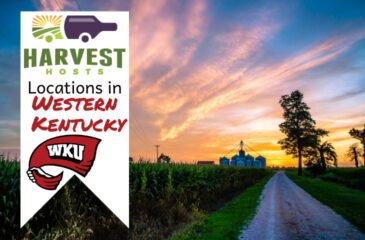 Harvest Hosts Locations in Western Kentucky