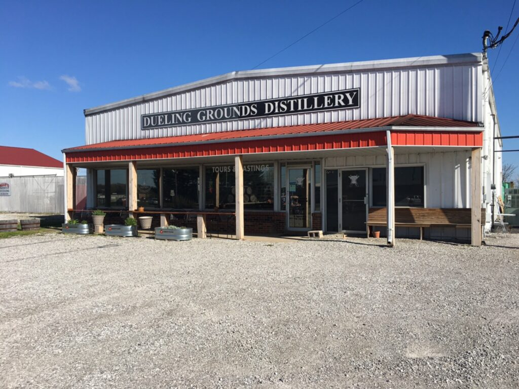 Dueling Grounds Distillery is one of our awesome locations in Western Kentucky.