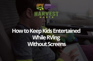 How to Keep Kids Entertained While RVing — Without Screens