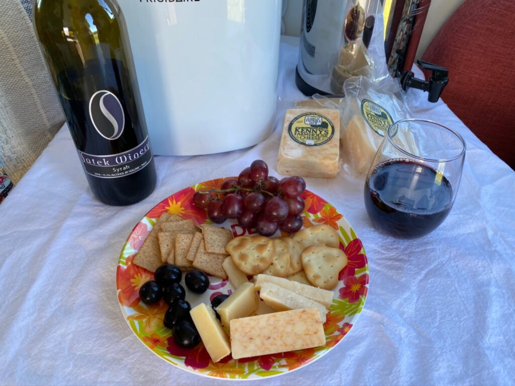 Kenny's Farmhouse Cheese is one of our awesome Harvest Hosts locations.