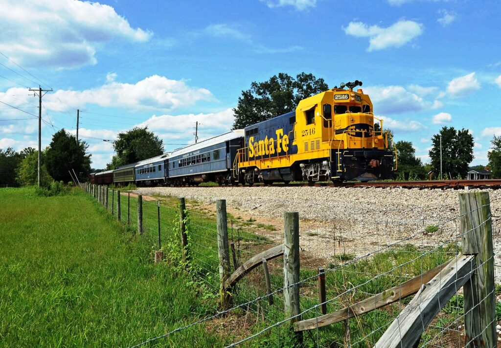 Kentucky Railway Museum is one of our awesome Harvest Hosts locations.
