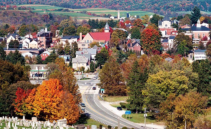 Pennsylvania is one of the best states to visit in your RV.