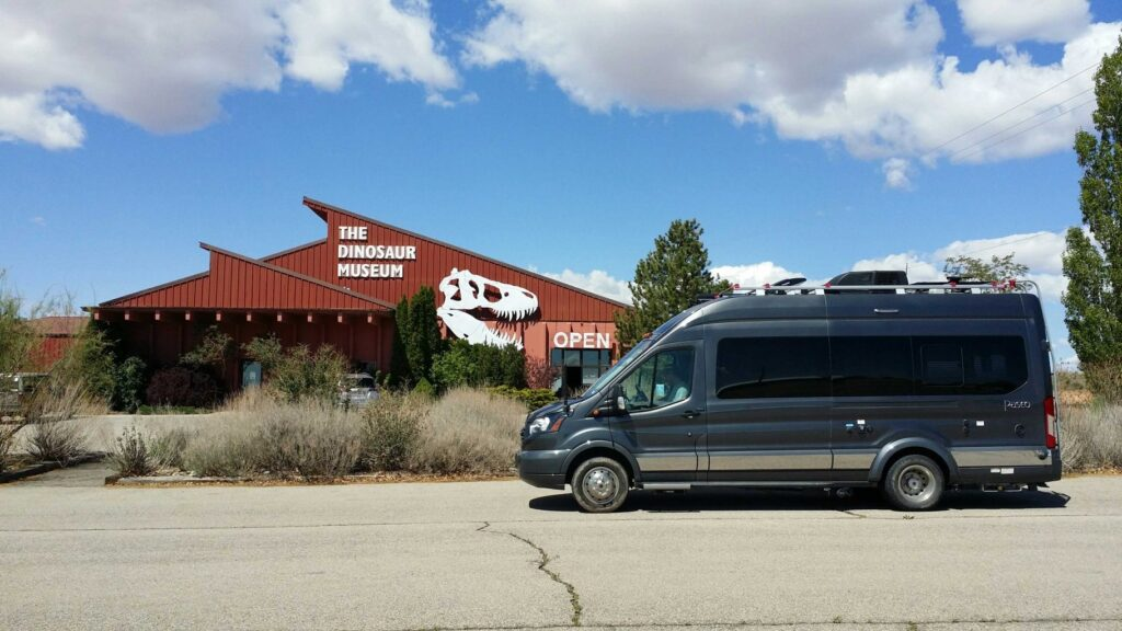 The Dinosaur Museum is one of our incredible Harvest Hosts locations.