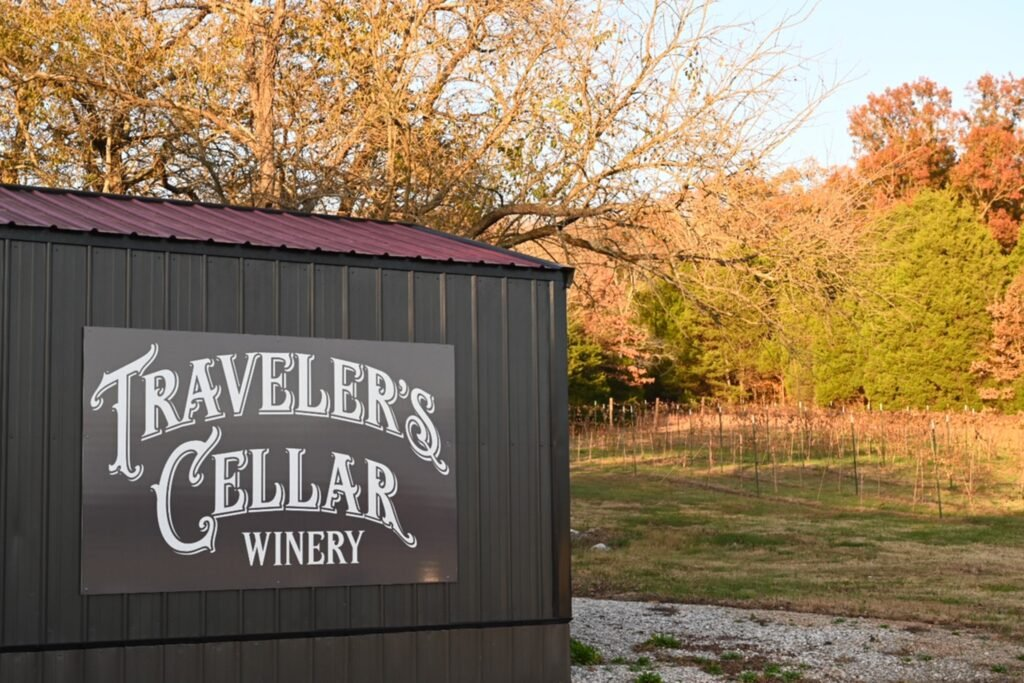 Traveler's Cellar Winery is one of our awesome Harvest Hosts locations.
