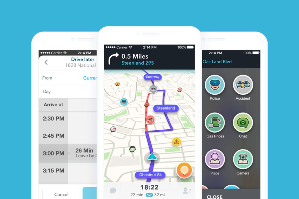 Waze is a great GPS app, but it is not the best choice for large RVs.