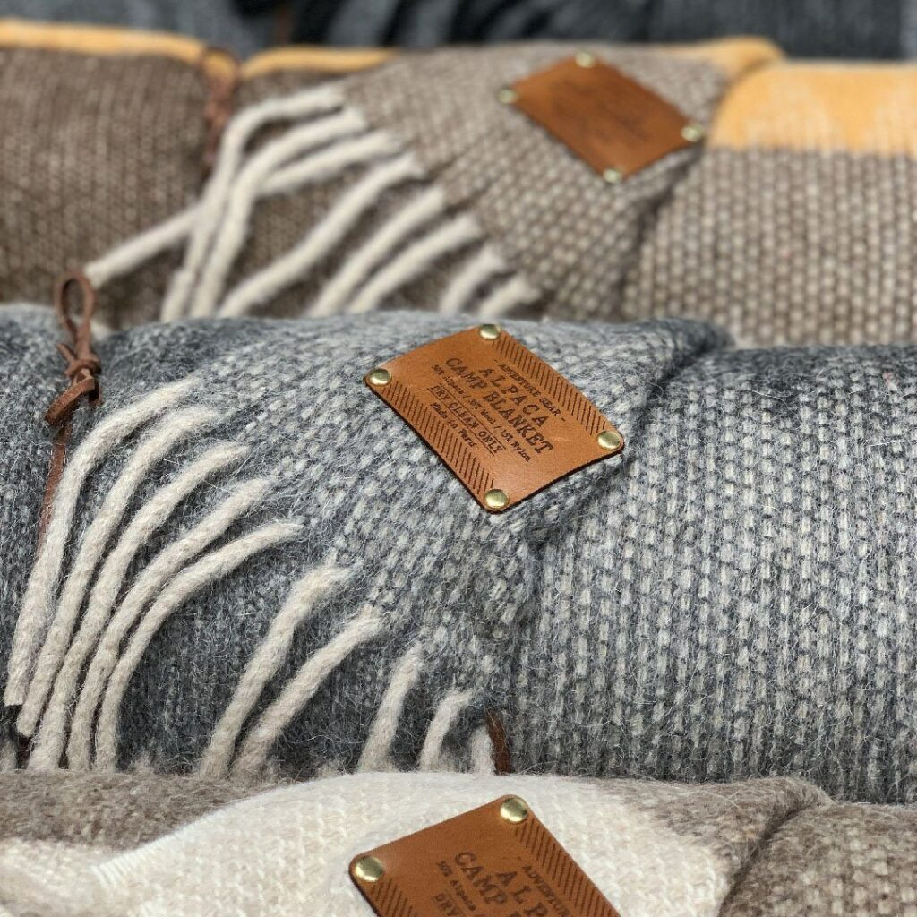 Alpaca fiber blankets are an excellent choice, as well.