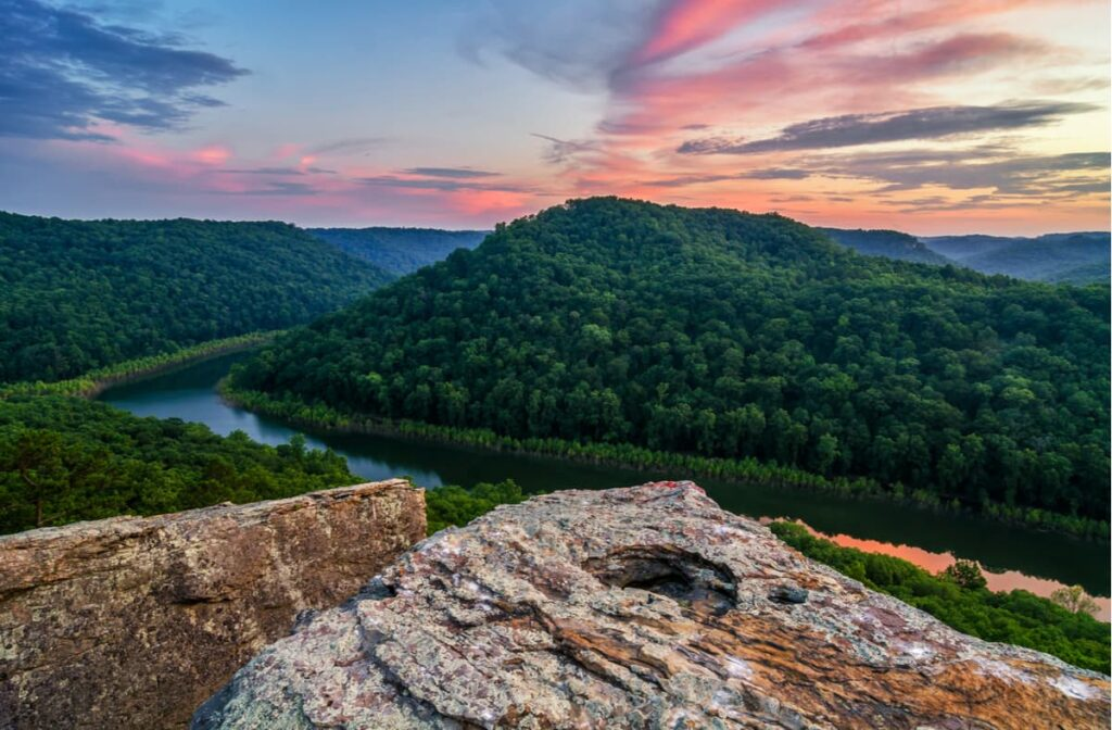 Kentucky is one of the most beautiful states in the east.