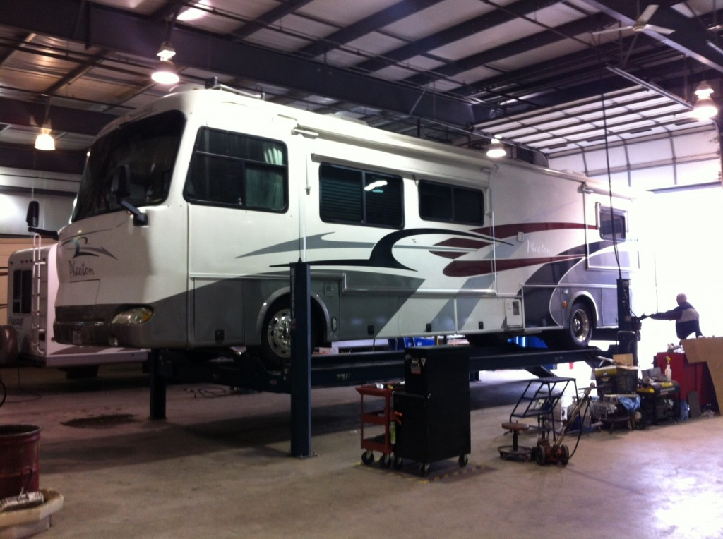 Large motorhomes in particular can be very costly to fix.