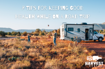 7 Tips For Keeping Good Health While On A Roadtrip