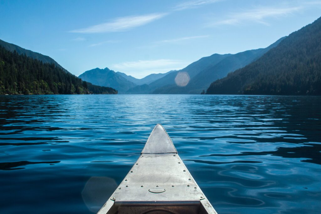 Lake Crescent is one of the most special places found in the park.
