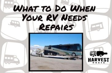 What to Do when your RV Needs Repairs