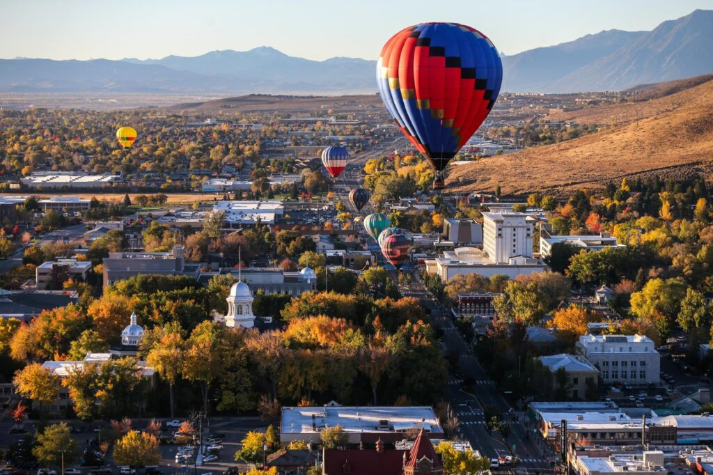 Carson City is a spectacular stop in the American southwest.