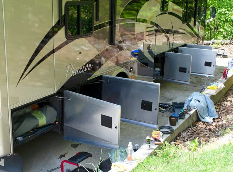 Maintaining your RV compartment doors is a necessary part of RV life.