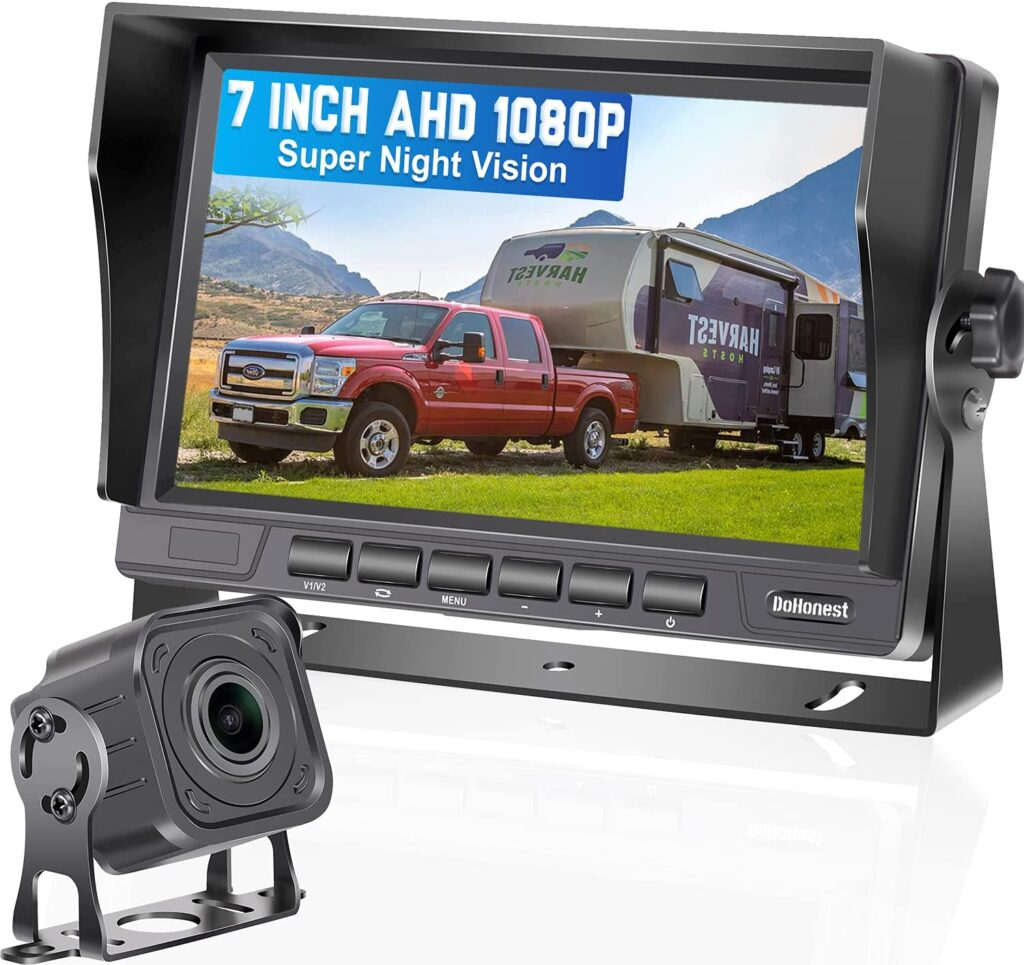 DoHonest wired is a great backup camera option for your RV.