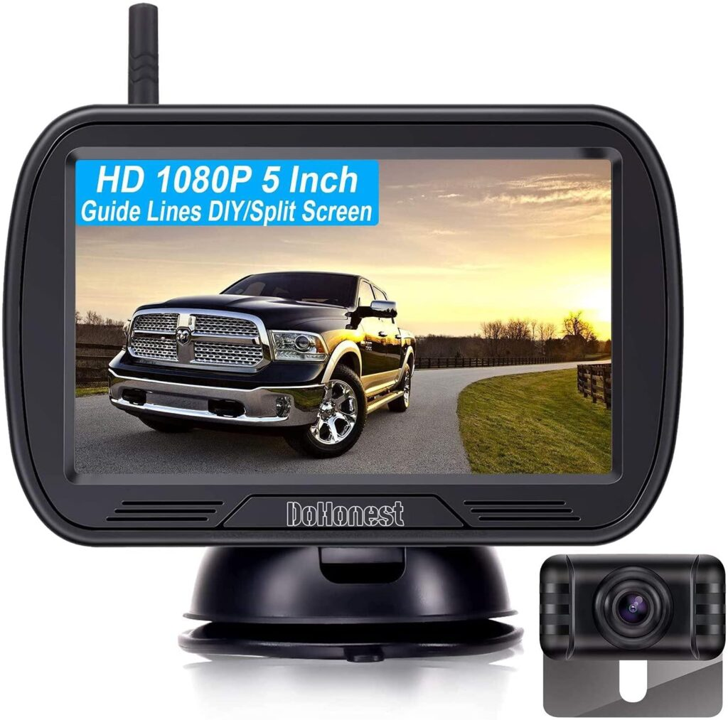 DoHonest wireless is a great backup camera option for your RV.