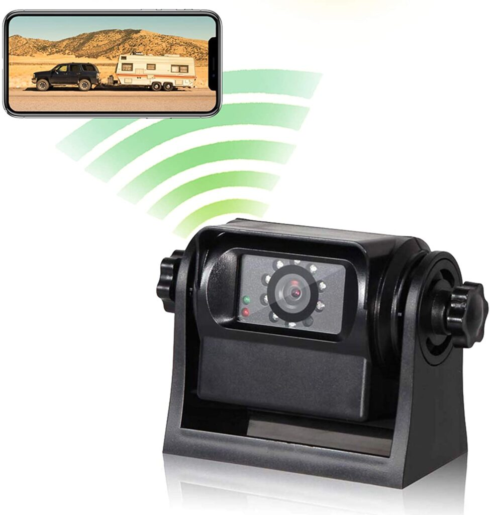 Eway phone is a great backup camera option for your RV.