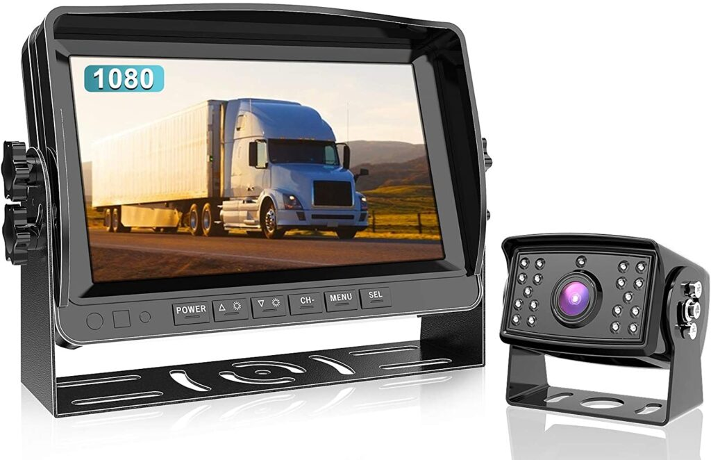 FooKoo wired is a great backup camera option for your RV.
