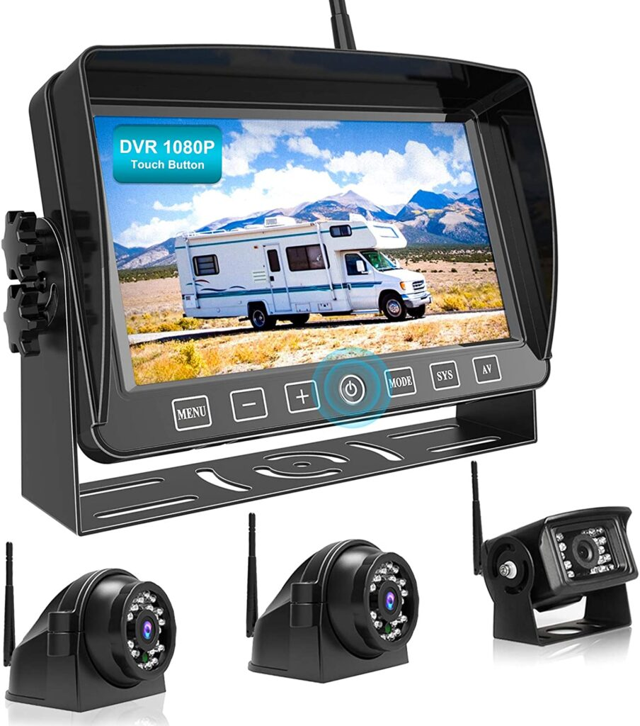 FooKoo wireless is a great backup camera option for your RV.