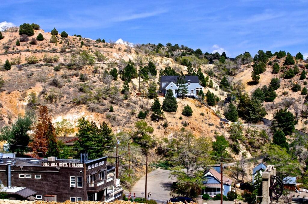Gold Hill Hotel is one of our awesome Harvest Hosts locations in Northern Nevada.