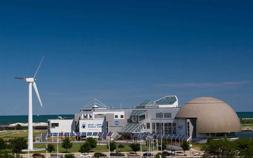 Great Lakes Science Center is an awesome tourist location in the Cleveland metro area.