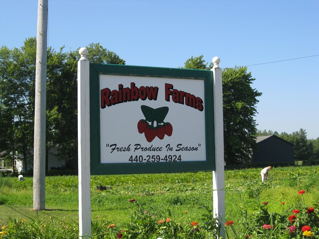 Rainbow Farms is one of our awesome Harvest Hosts locations in the Cleveland area.