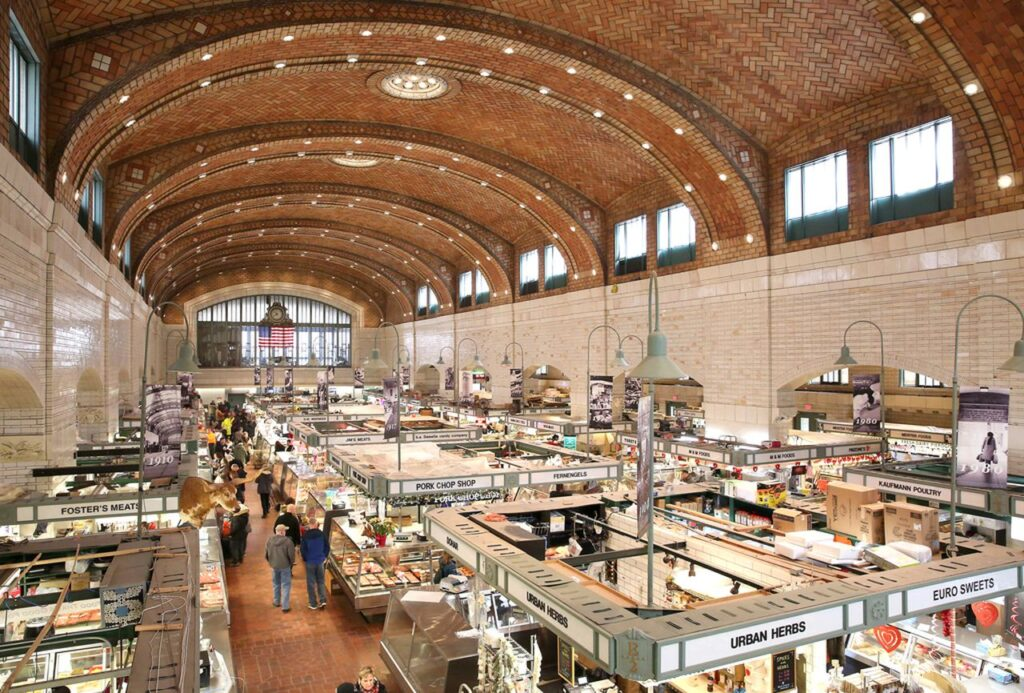 West Side Market is one of our awesome Harvest Hosts locations in Northeast Ohio.