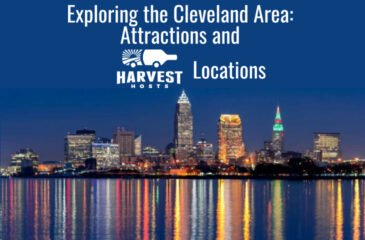 Exploring the Cleveland Area: Attractions and Harvest Hosts Locations
