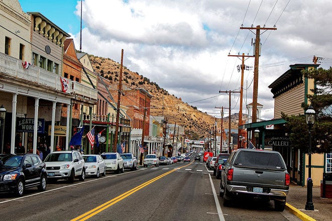 Virginia City is a spectacular stop in the American southwest.