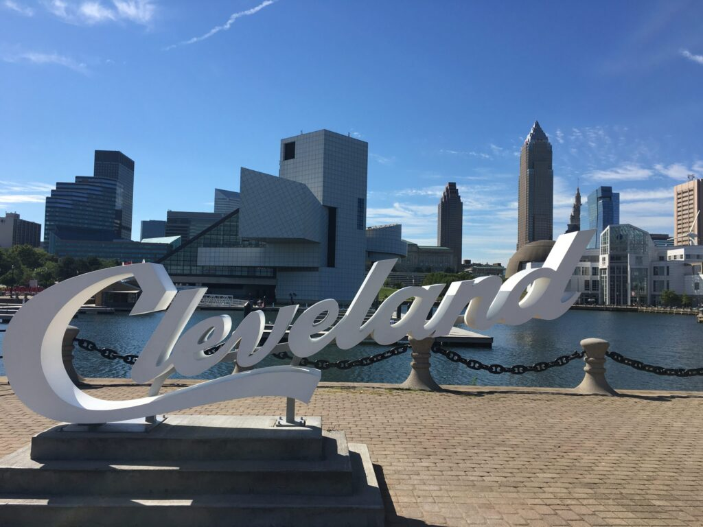 Cleveland is a vibrant and prospering city in the Northeastern region of Ohio.