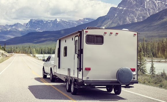 When towing your trailer for the first time, it's important to practice and have a plan in place.