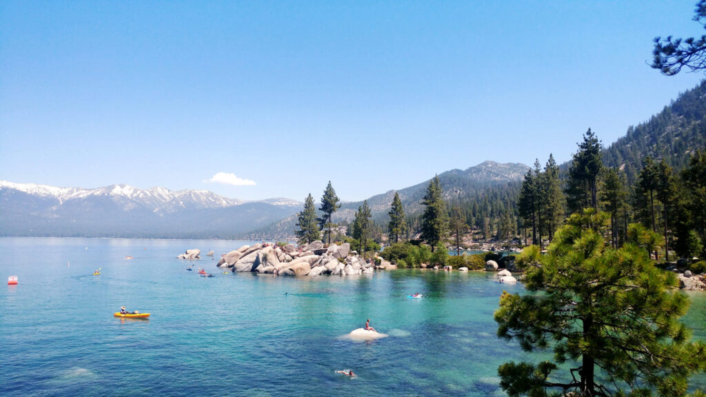 Lake Tahoe is a spectacular stop in Northern Nevada.