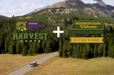 Boondockers Welcome is Joining the Harvest Hosts Family