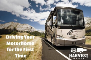 Driving your Motorhome for the First Time
