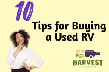 10 Tips for Buying a Used RV