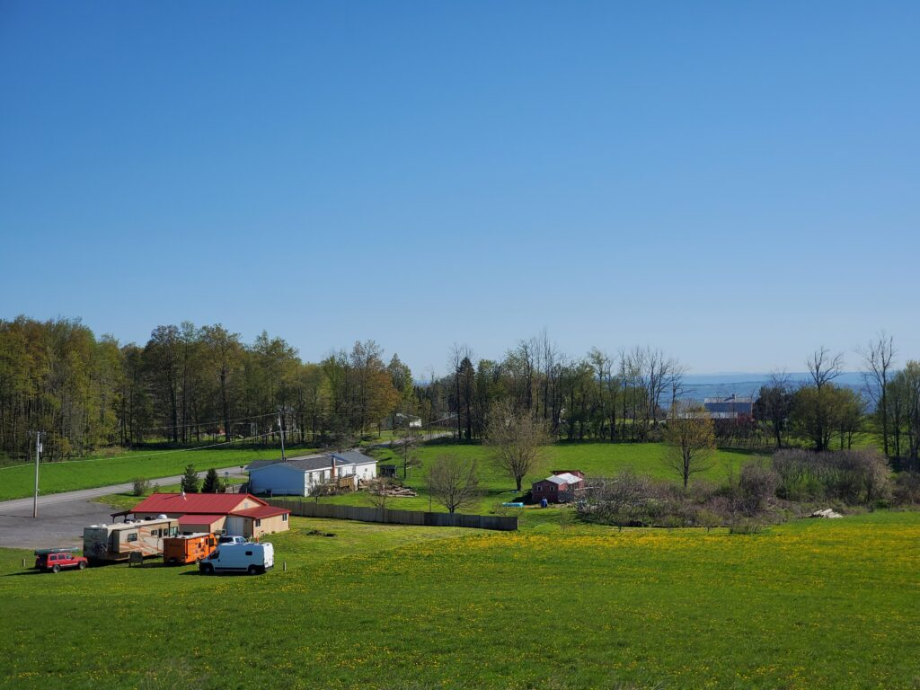 Gasstrom Farm is one of our incredible Harvest Hosts locations in New York.