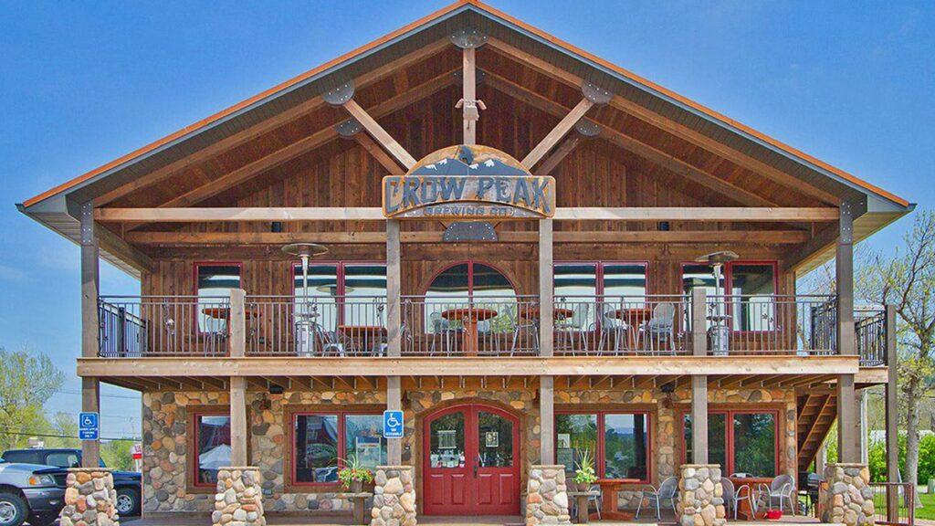 Crow Peak Brewing Company is an incredible Harvest Hosts location in the Black Hills of South Dakota.