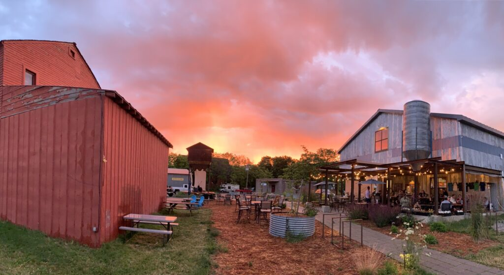 Matchwood Brewery is a stunning Harvest Hosts location on the Idaho Panhandle.