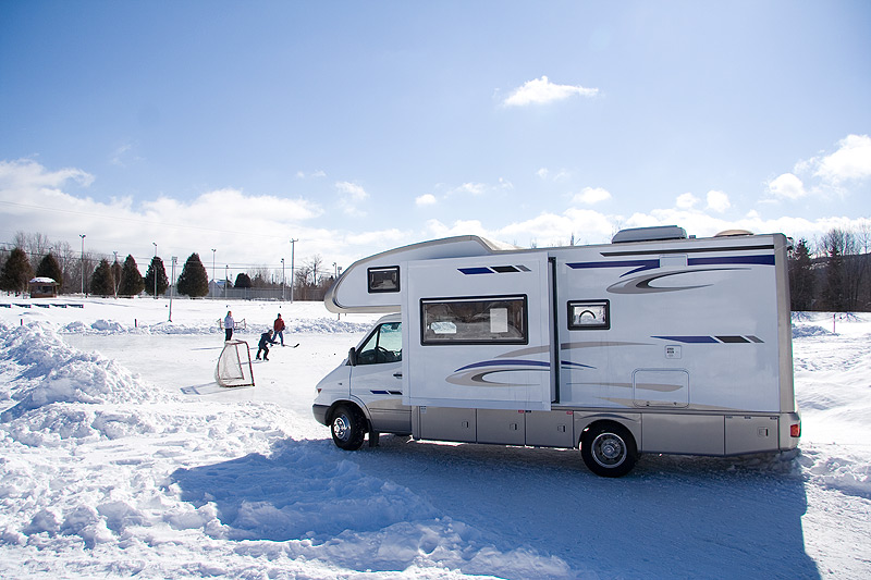 Before you store your RV, be sure to winterize.