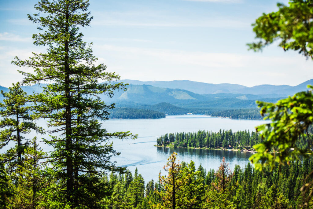 Priest Lake State Park is an excellent vacation destination on the Idaho Panhandle.
