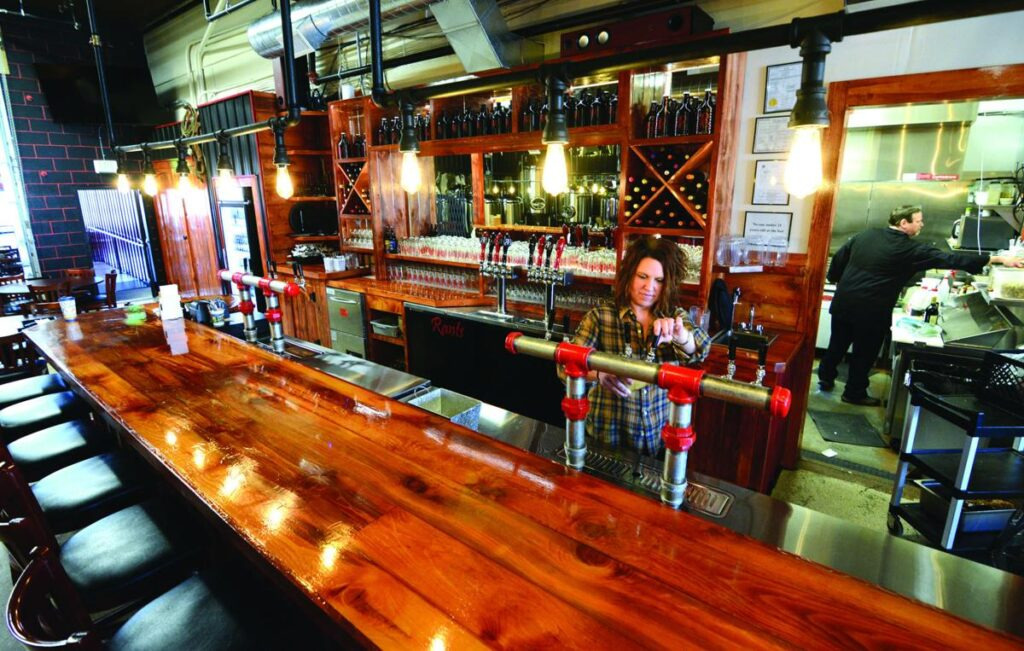 Rants & Raves Brewery is a stunning Harvest Hosts location in the Pacific Northwest.